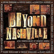 Beyond Nashville: Twisted Country Various Artists MUSIC CD