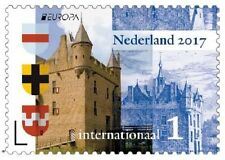 Nederland / The Netherlands - Complete set Dutch Castles 2017