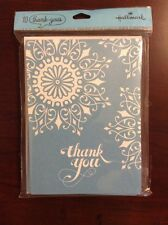 Hallmark Thank You Cards 10 With Envelopes