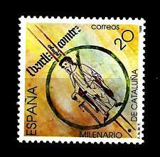 SPAIN - SPAGNA - 1988 - Millenario della Catalogna. Borrell II, conte Barcellona