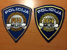 PATCH POLICE CROATIA  - National 2 style patches-  - ORIGINAL!