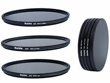 Haida Slim ND Graufilterset ND8x ND64x ND1000x 46mm + Stack Cap