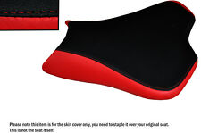 DESIGN 2 RED & BLACK CUSTOM FITS KAWASAKI ZX10R 1000 08-10 FRONT SEAT COVER
