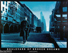 JAMES DEAN Boulevard of Broken Dreams Original Helnwein Poster 33 x 42