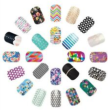 Jamberry Nail Wraps Lot 40 Samples 80-120 Accent Nails Mixed Manicure New!