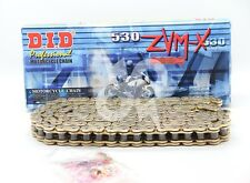 DID 530x150 Links ZVM-X Super Street Series Sealed X-ring Gold Chain
