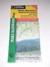 WHITE MOUNTAIN NATIONAL FOREST Trails Illustrated Map #741 National Geographic