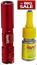 RapidFix UV Liquid Plastic Adhesive Starter Kit Rapid Fix Light Glue FREE 2DAY