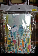 """Amazon Kindle Fire HDX 7"""" Stand Case Cover Birds Flower Watercolors NEW"""