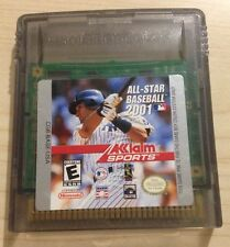 Nintendo GameBoy Color ALL-STAR BASEBALL 2001 Game Cartridge GBC GBA SP Acclaim