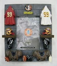 Florida State university Sculpted Ceramic College Picture Frame by Elby Gifts
