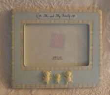 """Russ Baby Picture Frame Holds 4"""" x 6"""" Photo 6.5"""" x 7.5"""""""