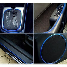 5M Car Interior Accessory Garnish Trim Blue Edge Gap Line Universal Body  Decor