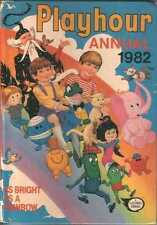 Playhour Annual 1982 good condition 1980's As Bright As A Rainbow x