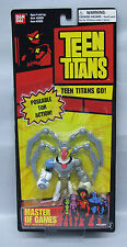 Teen Titans Master of Games 3.5in Ban Dai long red card figure NIP 4+ S103-9