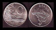 ★★ BRESIL ● 10 CENTAVOS 1977 ● E5 ★★