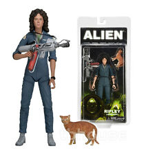 "7"" ELLEN RIPLEY jumpsuit ALIENS figure SIGOURNEY WEAVER movie NECA lt SERIES 4"