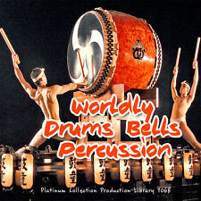DRUMS/PERCUSSION WORLDLY INSTRUMENTS Production Library 3 DVD over 10.5GB!!!