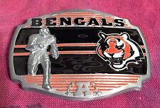 CINCINATTI BENGALS PLAYER BELT BUCKLE NFL BUCKLES NEW