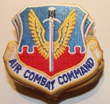 New Dealer Lot of Twenty USAF Air Combat Command Patches, Sew-On, Full Color