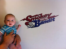 Decals Stickers Smokey And The Bandit SATB  Repositionable Wall Graphic