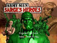 Army Men Sarge's Heroes - Nintendo N64 Game