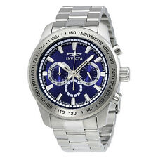 Invicta Speedway Chronograph Blue Dial Stainless Steel Mens Watch 21795