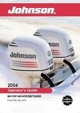 Johnson Outboard Owners Manual Book 2004 90, 115 & 140 HP   PL4, PX4, X4, CX4