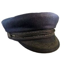 Guy cotten breton navy wool cap-taille 56cm, uk: 6 7/8, us: 7