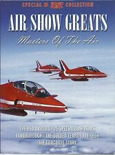 AIR SHOW GREATS - 3 DVD BOX SET - THE RED ARROWS, FARNBOROUGH & CONCORDE STORY