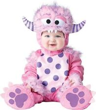 NEW Baby Girls' Pink Lil' Monster Costume For Infants 12-18 Months
