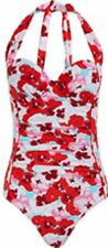 BNWT SWIMSUIT SIZE 12 BUST 34B 40'S STYLE  BY LETTERS FROM EVIE HIGH LEG PADDED