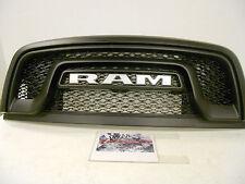 2016 Factory OEM Genuine MOPAR Dodge RAM MFM Rebel Black Paintable Grille Grill