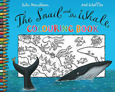 NEW the SNAIL AND THE WHALE - COLOURING book Julia Donaldson  Gruffalo