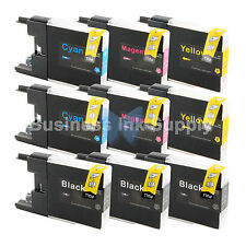 9 PACK LC71 LC75 Ink Cartridge for Brother MFC-J5910DW MFC-J625DW MFC-J6510DW