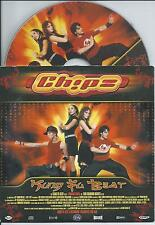 CHIPZ - Kung fu beat CD SINGLE 2TR BUBBLEGUM Eurodance 2004 HOLLAND RARE!!