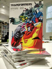 Transformers VisualWorks Book,In Stock!
