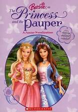Barbie: Princess and the Pauper Jr. Chapter Book-ExLibrary