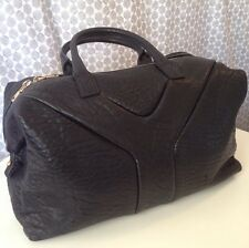 Yves Saint Laurent Easy Y Black Pebbled Leather Bag Satchel, Italy, $1297 MSRP
