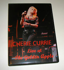 The Runaways Cherie Currie Live at The Golden Apple May 1998 DVD w/Sandy West