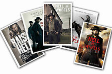 HELL ON WHEELS - SET OF 5 - A4 POSTER PRINTS # 1
