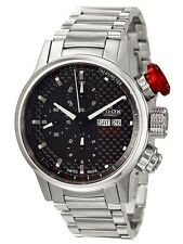Swiss Made EDOX WRC Chronorally Automatic Chronograph Men's Watch 01112-3-NIN