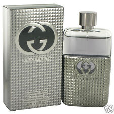 Gucci Guilty Stud Cologne Men's 3.4 oz Eau De Toilette Spray New Limited Edition