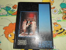 DIARIO Beautiful 2 TV School Ware Agenda Vintage Diary