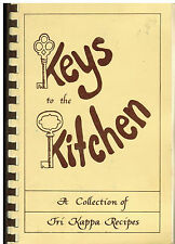 *LEBANON IN 1982 *TRI KAPPA *KEYS TO THE KITCHEN COOK BOOK *ALPHA BETA CHAPTER