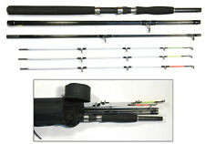 6'/8' BISON MULTI TIP BOAT PIER SPIN TRAVEL ROD & CORDURA ROD TUBE