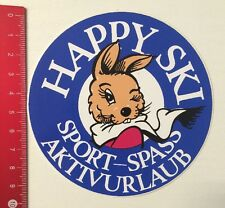 Aufkleber/Sticker: Happy Ski - Sport-Spass Aktivurlaub (29051644)