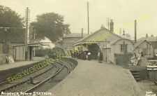 Andover Town Railway Station Photo.Andover Jct. to Clatford and Fullerton. (20)