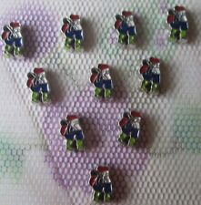 10PCS Christmas style floating charm for glass living memory locket #2013