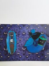 Haunted Mansion Hat Box Ghost Bride 2 Pin Set Disney Fantasy LE Pin
